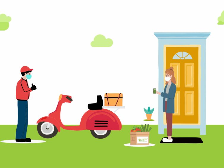 Benefits of contactless delivery with Ecommerce