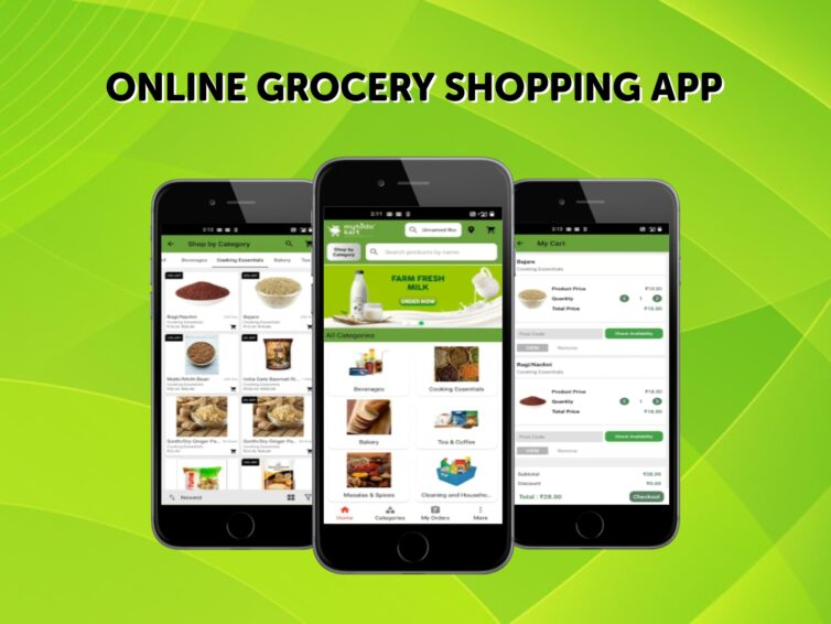 Features of Online Grocery Shopping App